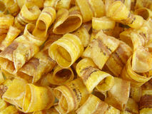 Banana chips background Royalty Free Stock Photography