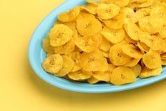 Banana chips Royalty Free Stock Photo