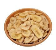 Banana chips Stock Images
