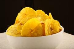 Banana chips from Kerala cuisine Royalty Free Stock Photo
