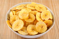 Banana chips from Kerala cuisine. Stock Images