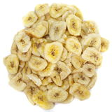 Banana chips royalty free stock images
