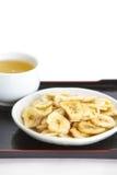 Banana chips royalty free stock photography