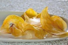 Banana chips. Royalty Free Stock Photos