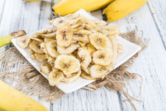 Banana Chips Stock Photography
