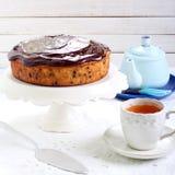Banana chocolate cake Royalty Free Stock Photo
