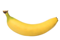 Banana clipping path Stock Images