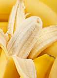 Banana closeup Stock Images