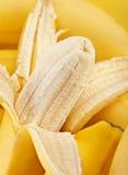Banana closeup Stock Images