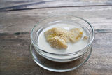 Banana in coconut milk :  thai dessert Royalty Free Stock Photos