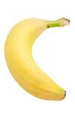 Banana (com trajeto de grampeamento) Imagens de Stock Royalty Free