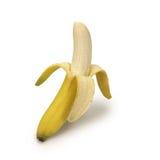 Banana con il percorso Fotografia Stock