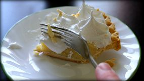 Banana cream pie Royalty Free Stock Photo