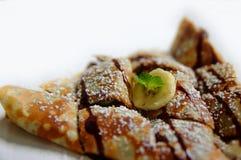 Banana Crepe Stock Image