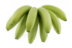 Banana crua foto de stock