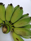Banana crua Fotos de Stock Royalty Free