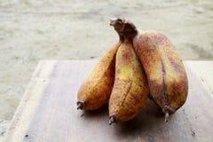 Banana cultivada madura Fotografia de Stock Royalty Free
