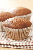 Banana cup cake Royalty Free Stock Photo