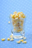 Banana cup cake Stock Photo