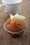 Banana cup cake Royalty Free Stock Image
