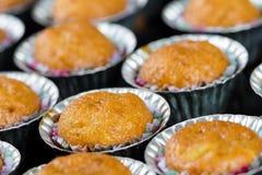 Banana cup cake Royalty Free Stock Photos