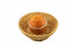 Banana cup cake Royalty Free Stock Image