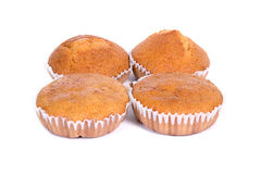 Banana cup cake Royalty Free Stock Photography