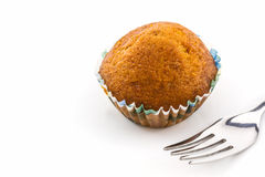 Banana cupcake. Stock Photo