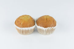 Banana cupcake Stock Photography