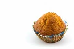 Banana cupcake. Stock Images