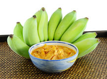 Banana curry delicious thai food Royalty Free Stock Image