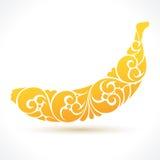 Banana da ilustração do vetor Fotografia de Stock Royalty Free