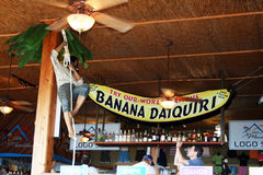 Banana daiquiri Royalty Free Stock Image