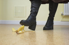 Banana Danger! Stock Photography