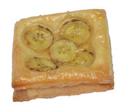 Banana Danish or Banana Pie Royalty Free Stock Image