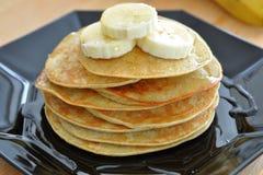 Banana das panquecas Imagem de Stock Royalty Free