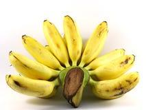 Banana del primo piano fotografia stock libera da diritti