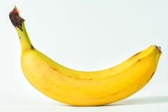 Banana. Delicious banana yellow on a white background Stock Photo