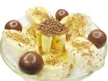 Banana dessert Royalty Free Stock Images