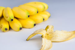 Banana peel Royalty Free Stock Photos