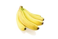 Banana do grupo Imagem de Stock Royalty Free