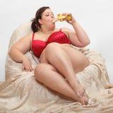 Banana doce. Imagens de Stock