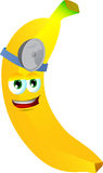 Banana doctor Royalty Free Stock Photography