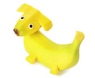 Banana - dog Royalty Free Stock Image