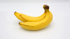 Banana dois real Fotografia de Stock Royalty Free