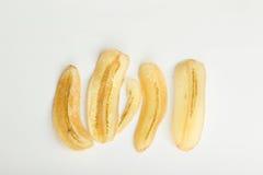 Banana dolce croccante Fotografie Stock Libere da Diritti