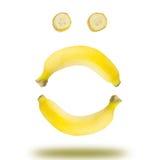 Banana emotional Stock Photo