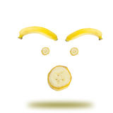 Banana emotional Stock Images