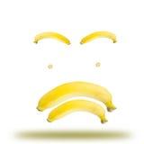 Banana emotional Stock Image