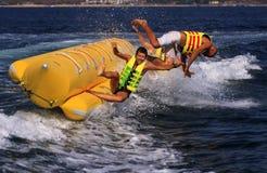 Banana extrema da água Fotografia de Stock